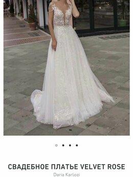 Платья - Свадебное платье Daria Carlozi velvet rose, 0