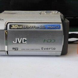 Видеокамеры - Видеокамера JVC EVERIO HDD с жёстким диском (30 ГБ), 0