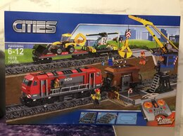 Конструкторы - Конструктор Мощный грузовой поезд 28033, 0