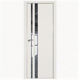 Межкомнатные двери - Межкомнатные двери Profil Doors 16E ДаркВайт Зеркало Кромка Матовая с 4-х сто..., 0