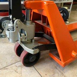 Грузоподъемное оборудование - Гидравлическая тележка низкопрофильная 1000 кг, 0