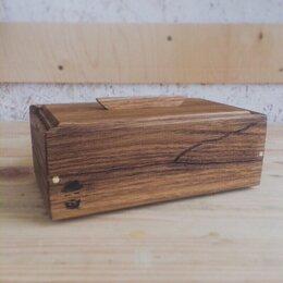Шкатулки - Шкатулка из массива дуба со сдвижной крышкой, 0