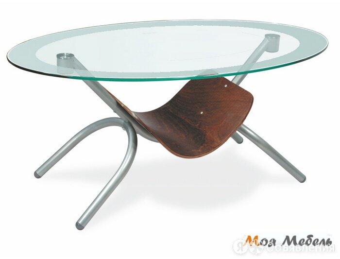 Стол журнальный Дуэт 2 в цвете Металлик по цене 15300₽ - Столы и столики, фото 0