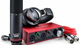 Оборудование для звукозаписывающих студий - FOCUSRITE Scarlett 2i2 Studio 3rd Gen Комплект…, 0