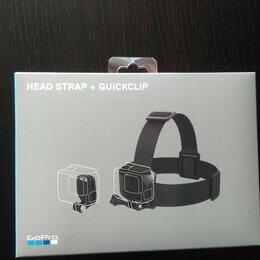 Аксессуары для экшн-камер - Крепление на голову+клипса на одежду для GoPro, 0