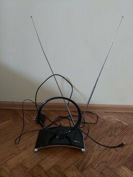 Антенны - Телевизионная антенна DENN DAA235, комнатная, 0