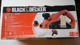 Рубанки - Электрорубанок Black & Decker KV712 650 W, 0