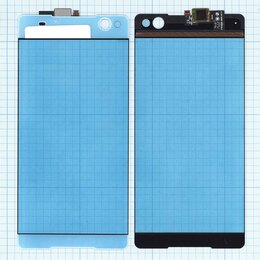 Дисплеи и тачскрины - Сенсорное стекло (тачскрин) для Sony Xperia C5…, 0