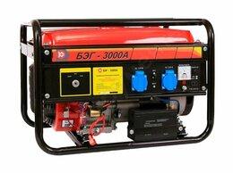 Электрогенераторы - Генератор бензиновый Калибр 3 кВв 220в с…, 0