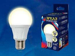 Лампочки - Лампа светодиодная Uniel Яркая E27 18Вт 3000K…, 0