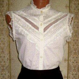 Блузки и кофточки - Летняя блузка цвета шампанского, р.44-46, 0
