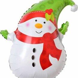Новогодние фигурки и сувениры - Снеговик в зеленом колпачке, 0