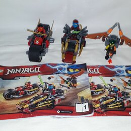 Конструкторы - Lego NinjaGo 70600 Ninja Bike Chase, 0