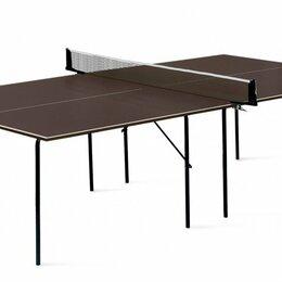 Столы - Влагостойкий теннисный стол Start line Hobby Light Outdoor 6017, 0