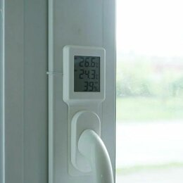 Метеостанции, термометры, барометры - Электронный термометр под ручку (новый), 0