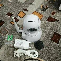 Камеры видеонаблюдения - Wi fi камера видеонаблюдения беспроводная новая, 0