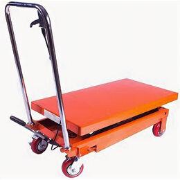 Грузоподъемное оборудование - Стол подъемный TOR SP1000 г/п 1000 кг, подъем -…, 0