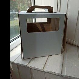 Подарочная упаковка - Коробка для торта 24х24х24, 0