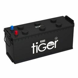 Аккумуляторы и комплектующие - Аккумулятор Tiger (Рязань) 190 4 узкий рос конус ( 6СТ190), 0