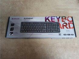 Клавиатуры - Клавиатура Defender Element HB-520 USB, 0