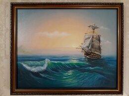 Картины, постеры, гобелены, панно - картина маслом морской пейзаж, 0