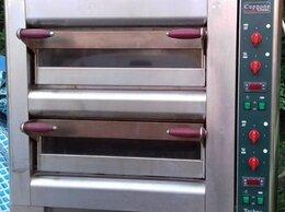 Жарочные и пекарские шкафы - Пицца печь Cuppone Ovens TH430/2M с подставкой, 0
