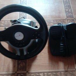 Рули, джойстики, геймпады - Руль+педали. oklick W-5 Mini USB 2.0, 0