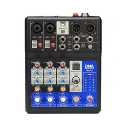 Микшерные пульты - GrandVox MC-04X USB Микшерный пульт аналоговый, каналы: 2 микрофонных универ..., 0