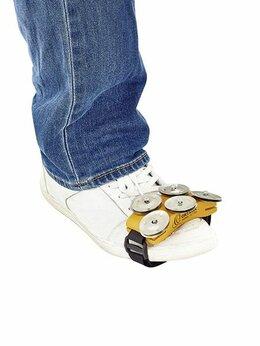 Прочие духовые инструменты - Ortega OSSFT Тамбурин на ногу, плоский, 5 пар…, 0