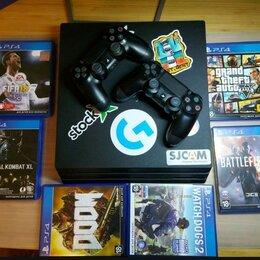 Игровые приставки - PS 4 pro 1тб, 0