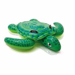 Прочие аксессуары - Плот надувной Черепаха 150х127 см, Intex, 0