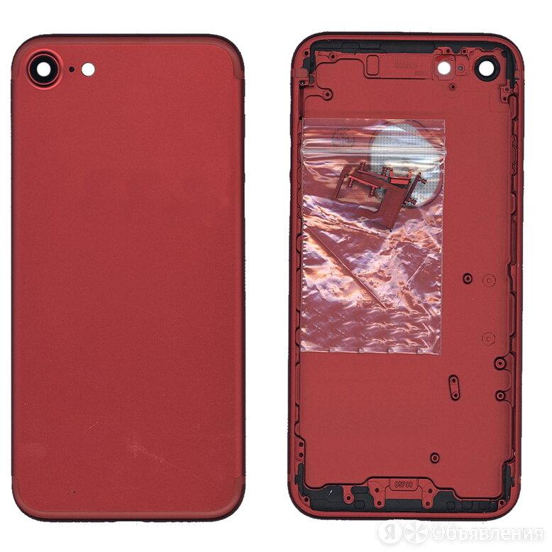 Задняя крышка для iPhone 7 (4.7) красная по цене 710₽ - Корпусные детали, фото 0