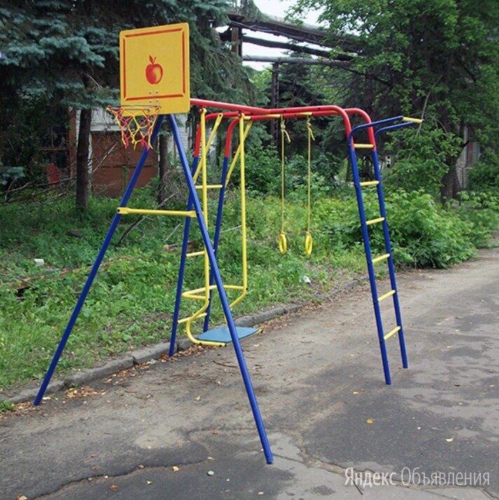 Уличный детский комплекс Юла по цене 12200₽ - Игровые и спортивные комплексы и горки, фото 0
