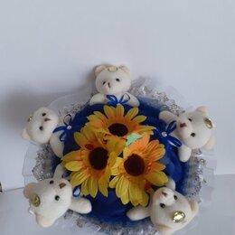 Цветы, букеты, композиции - букет из мягких игрушек, 0