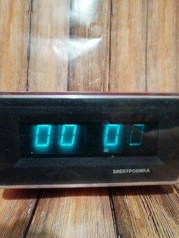 Часы настольные и каминные - Часы - будильник Электроника Б6-403, СССР , 0