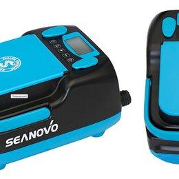 Аксессуары  - Насос аккумуляторный двухступенчатый HT-999 Seanovo для лодок ПВХ ( 0,34-1,38..., 0