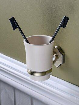 Держатели и крючки - W02-08 стакан для зубных щеток sacramento, 0