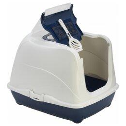 Туалеты и аксессуары  - Moderna Flip Cat (50x39x37h см) Синий Био-туалет…, 0