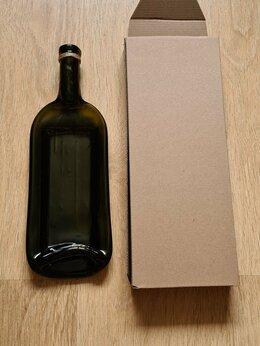 Этикетки, бутылки и пробки - Тарелка из бутылок , 0
