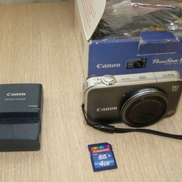 Фотоаппараты - фотоаппарат canon PowerShot SX220HS, 0