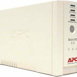 Источники бесперебойного питания, сетевые фильтры - источник бесперебойного питания APC Back-UPS BK500EI, 500ВA, 0