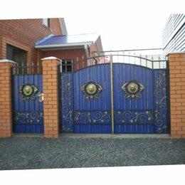 Заборы и ворота - Кованые и распашные ворота, 0