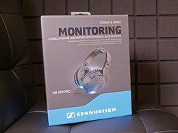 Наушники и Bluetooth-гарнитуры - Наушники sennheiser HD 200 PRO, 0