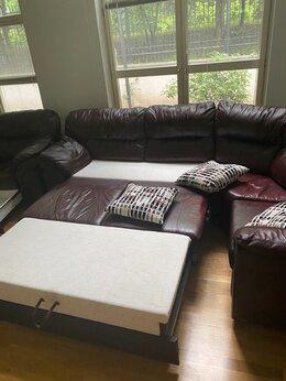 Диваны и кушетки - Кожаный диван бу, 0