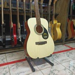 Акустические и классические гитары - Гитара акустическая с чехлом, 0