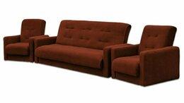 Диваны и кушетки - Комплект мягкой мебели Милан коричневый 💥 0177💥, 0