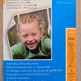 Бумага и пленка - Фотобумага hp Advanced Photo Paper (10x15mm), 0