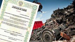 Финансы, бухгалтерия и юриспруденция - Лицензия на лом черных и цветных металлов, 0