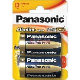 Батарейки - Батарейка тип «D» Panasonic Alkaline LR20 2шт/бл, 0
