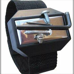 Сумки для инструментов - Наручный магнитный держатель (браслет), 0